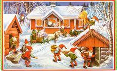 Steinssons,Kiiltäviä Valokuvia,scraps - joulua juliste