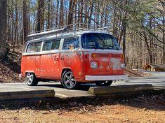 73 late bay tin top camper Combi Vw, Bay Window, Camper, Vehicles, Painting, Design, Caravan, Travel Trailers, Painting Art