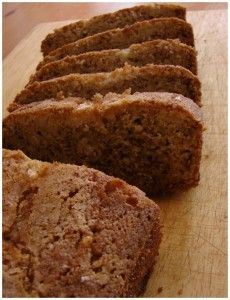 Apple Banana Bread with Rice Flour - @Molly O - Megs said this is really good!