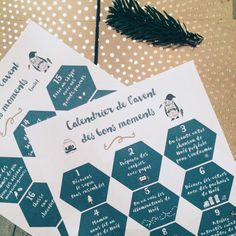 Calendrier de l'avent des bons moments (free printable) - Milk and FabricMilk and Fabric French Christmas, Natural Christmas, Noel Christmas, Winter Christmas, Christmas Crafts, Christmas Decorations, Diy Advent Calendar, Advent Calendars, Diy Weihnachten