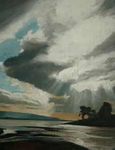 Drama over the Bay, an original oil painting by Rob Piercy