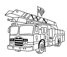Free Printable Fire Truck Coloring Pages For Kids: | winter ...