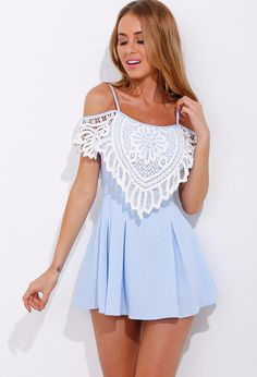 Once Upon A Dream Dress Blue