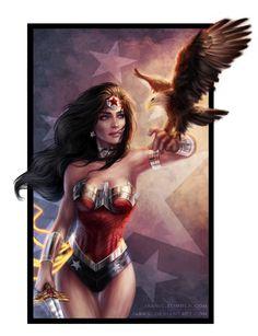 Wonder Woman - jasric.deviantart.com