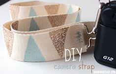 Easy DIY Camera Strap | Handmade Jade
