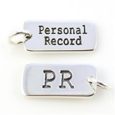 What's your #running #PR? #InspiredEndurance #runnerjewelry #runnerbling