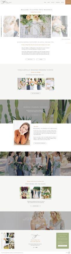 Wedding planner website by Rachael Earl Design Creative Business, Wedding Planner, Logo Design, Website, Dibujo, Wedding Planer, Wedding Planners