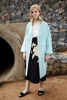 Alena Akhmadullina | Resort 2017 Collection | Vogue Runway