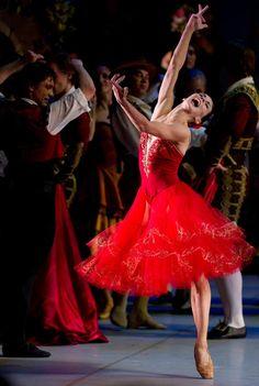 """Natalia Osipova and Ivan Vasiliev, """"Don Quixote"""", Mikhailovsky Ballet"""