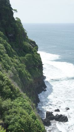 The dramatic coast of El Salvador near Tunco, a surfing haven.