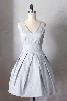 Fleet Collection - Soiree Dress in Dove, $42.00 (http://www.fleetcollection.com/soiree-dress-in-dove/)