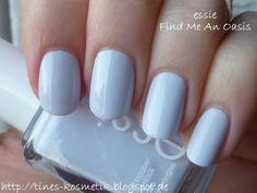 essie Find Me An Oasis Essie Polish, Blue Nail Polish, Nail Polishes, Pink Nail Designs, Nail Designs Spring, Cute Pink Nails, Pretty Nails, Nail Mania, Happy Nails