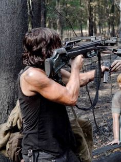 Daryl's biceps have satiated our thirst. | For Everyone Who Is Obsessed With Daryl's Arms