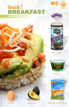 rice cake quick breakfast trader joes ingredients