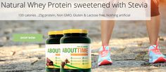 Looking for a good Natural Whey Protein? About Time's high quality whey protein isolate keeps it simple and 100% All-Natural. gluten free | non gmo | lactose free | #nuhealth #nuhealthsupps BUY NOW: https://nuhealthlifestyle.com/product/natural-whey-protein-isolate/