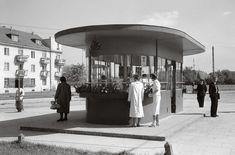 Przystanki tramwajowe na pl. Wilsona, zniszczone w 1944 (źródło: materiały prasowe organizatora)