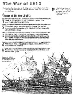 Battle of New Orleans Coloring Page | War of 1812 for Kids ...