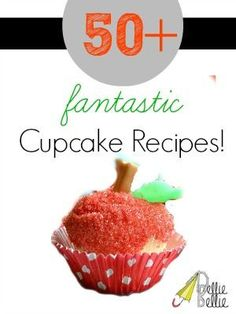 Over 50 cupcake recipes at NellieBellie!!!   #cupcake #recipes