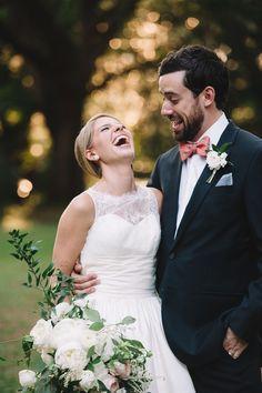 Joyful bride and groom   Jennings King