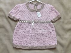 Baby Girl dress 100 cotton by Vickyannstitches on Etsy, £27.50