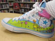 Dr. Seuss The Lorax Converse Chuck Taylor All Star shoes!