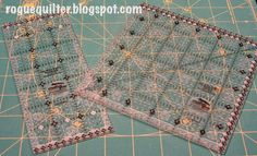 rogue quilter: Itty Bitty Eights Rulers put to the test!
