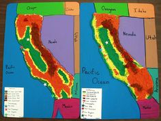Sea Star Academy: Salt Dough Map of California | Unit Study ...