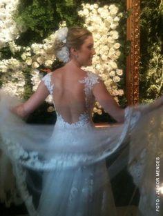 Red carpet Wedding: Fabiana Justos and Bruno D'Ancona ~ Red Carpet Wedding