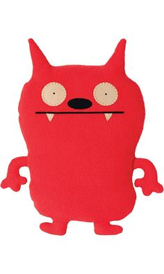 """Ugly Doll Classic Plush Doll, 12"""", Dave Darinko Red (Discontinued by manufacturer) Best Price"""