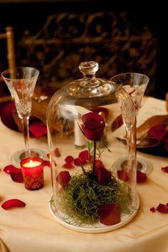 Centres de tables mariage st valentin 3