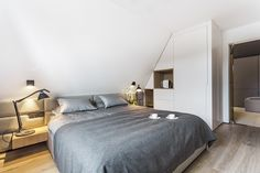 Apartament w Zakopanem - projekt Bartek Włodarczyk - sypialnia