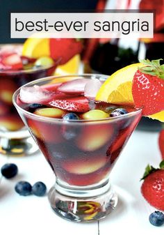 Best-Ever Sangria takes minutes to prepare. It is lightly sweet and perfectly refreshing.
