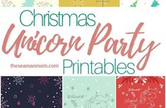 The Best & Biggest Free Fortnite Party Ideas List – Party Ideas up pool ideas Unicorn Party Printables for Christmas Fun Christmas Party Ideas, Christmas Candy, Holiday Parties, Unicorn Themed Birthday Party, Unicorn Party, Birthday Party Themes, Birthday Ideas, 7th Birthday, Birthday Gifts