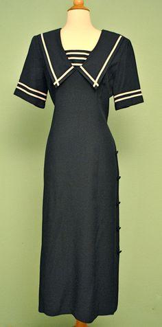 Sailor Dress for 1950s Rockabilly Pinups