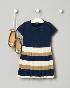 Fall Festival Striped Sweater Dress from Janie and Jack