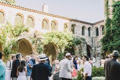 How do I even begin to describe this wedding? Milly (of Thoroughly Modern Milly) and Simon decided to get married in the south of France, a place that had given her so many happy memories growing up. She got ready in her grandmother's house, surrounded by vineyards and forest...