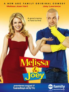 MELISSA AND JOEY I HAVE ALWAYS BEEN A FAN OF BOTH OF THEM BACK IN THE DAY.