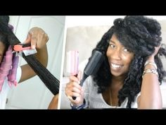 How to Detangle THICK Curly Natural Hair | How to Modify Denman Brush! - YouTube