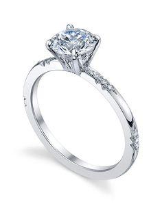 Michael B. Royal Lace Engagement Ring in Platinum with Round Shape I https://www.theknot.com/fashion/royal-lace-ring-michael-b-engagement-ring?utm_source=pinterest.com&utm_medium=social&utm_content=june2016&utm_campaign=beauty-fashion&utm_simplereach=?sr_share=pinterest