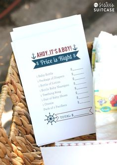 Over 50+ FREE baby shower printables for your party