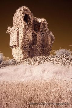 """Clogharevaun Castle"" -  See more at http://www.ciaranmchugh.com/?pagid=cloughanover-castle"