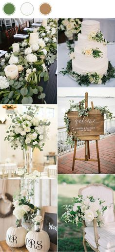 top_10_wedding_color_combinations_for_2017_white_green_and_nude