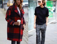 3 stylizacje na jesień 2015, trendy na jesień, wełniany płaszcz, rozszerzane spodnie