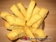 Great recipe for Olive oil rusks from Kythira. The renown olive oil rusks from Kythira, very easy to make! Recipe by elg Greek Bread, Rusk Recipe, Greek Appetizers, Greek Sweets, Biscotti Cookies, Savory Muffins, Daily Bread, Greek Recipes, Diy Food