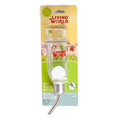 Living World Eco+ Water Bottle from Pets At Home Animal House, Pet Shop, Popcorn Maker, Water Bottle, Live, World, Rabbits, Dogs, The World