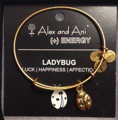 Ladybug Alex And Ani Bracelet Bracelets Diy Jewelry