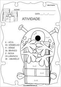 Atividades Para Colorir Infantil Projeto Pedagogico Literatura