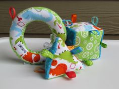 baby taggie toys--want to try this!