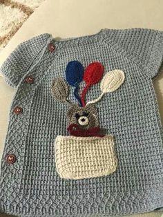 """tunus-isi-tabsanli-balonlu-bebek-yelek [   """"Knitted Child"""