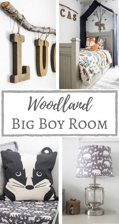 Simply Beautiful by Angela: One Room Challenge (Week 6): Woodland Big Boy Room Reveal